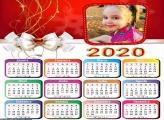 Calendário Laço Natalino 2020