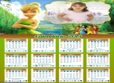 Calendário da Sininho Tinker Bell 2019