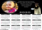 Calendário Amor Mãe da Misericórdia 2020