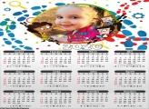 Calendário DPA 2020 Moldura