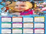 Calendário Amiguinhos de Natal 2020