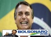 Bolsonaro Paz e Amor Moldura
