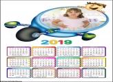 Calendário no Triciclo Infantil 2019