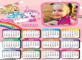 Calendário Princesa e Unicórnio 2020