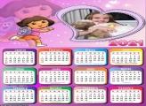 Calendário Coração Dora Aventureira 2021