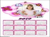 Calendário de Bebê 2019 Moldura