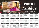 Calendário Natal para Amigos 2020