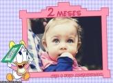 Margarida Baby 2 Meses Moldura