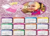 Calendário Fada Peppa Pig 2020