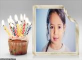 Bolinho de Aniversário Moldura