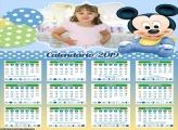 Calendário Mini Baby Mickey 2019