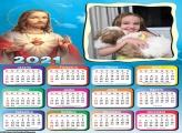 Calendário Jesus Cristo 2021