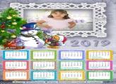 Calendário Natal Feliz 2019
