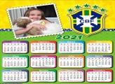 Calendário do Brasil 2021