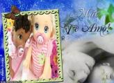 Moldura Amor de Mãe Colagem de Foto