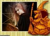 Bruxa de Cera Colagem de Foto