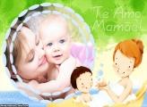 Banho com Filhinho Te Amo Mamãe