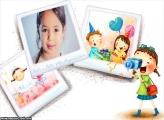 Foto de Aniversário Infantil Moldura