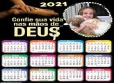 Calendário Confie Sua Vida 2021