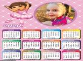 Calendário Dora Bailarina 2020