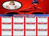 Calendário da Lady Bug 2019