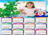 Calendário Infantil do Papai Noel 2019