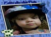 Moldura Azul Dia dos Pais