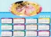Calendário Realeza para Meninos  2018