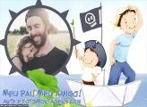 Brincadeira Dia dos Pais Moldura