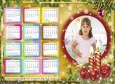Calendário Simbolo de Natal 2019