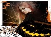 Abobora Preta Halloween