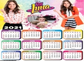 Calendário Sou Luna 2021