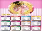Calendário Tema Realiza Feminino 2018