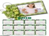 Calendário Corujinha Verde 2019
