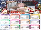 Calendário Boneco de Neve Natal 2021