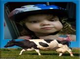 FotoMoldura Vaca Leiteira
