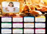 Calendário Viva 2019 Feliz Ano Novo