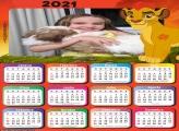 Calendário A Guarda do Leão 2021