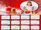 Calendário Velas Natalinas 2019