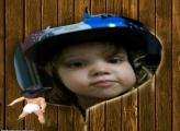 FotoMoldura Bebê Cowboy Rodeio