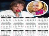 Calendário Roberto Carlos 2020