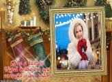 Foto Moldura Sapatinho de Natal