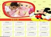 Calendário do Mickey 2018