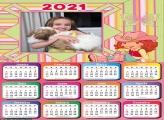 Calendário Cowgirl Moranguinho 2021