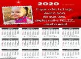 Calendário Natal Noite Feliz 2020
