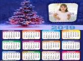 Calendário Árvore Iluminada de Natal 2019