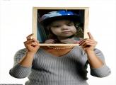FotoMoldura Placa Mulher