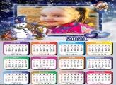 Calendário Boneco de Neve Amigo 2020