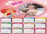 Calendário Moranguinho 2021