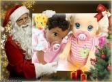 Papai Noel de Verdade FotoMoldura